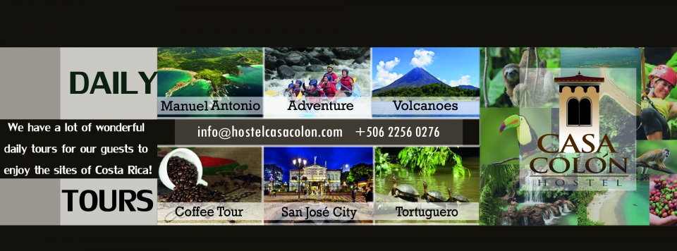 Tours to enjoy Costa Rica!!